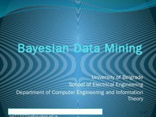 Bayesian Data Mining.pptx