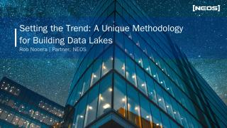 Benefits of a Data Lake Two-Speed Architectur...