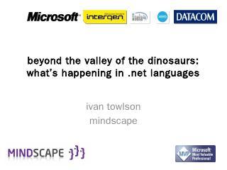 Beyond C# versus Visual Basic - Flatlander - ...