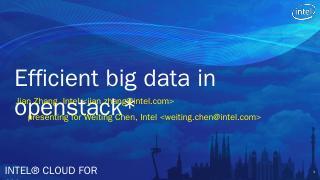 Big Data Engine Batch MapReduce In-memory Spa...