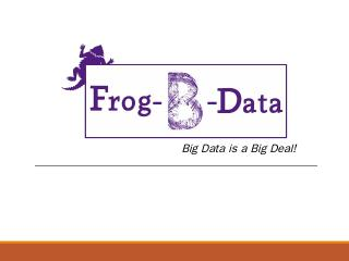 Big Data is a Big Deal! - Senior Design Proje...