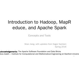 Big Data Technology - Hadoop, MapReduce, and ...