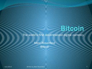 Bitcoin - Bitcoil