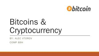 Bitcoins & Cryptocurrency - UNC Computer Science
