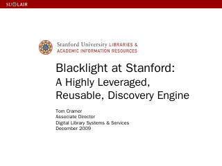 Blacklight plugin