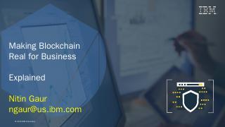 Blockchain Adoption - IBM