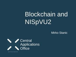 Blockchain and NISpVU2 - Croatia.pptx