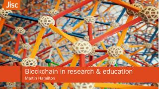 Blockchain in research & education Credential...
