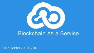Blockchain Overview - CCC Innovation Center