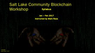 Blockchain workshop - Meetup