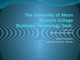boot loader - The University of Akron - Login