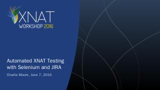 Breakout: Embedding an XNAT UI in a separate ...