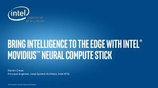Bring Intelligence to...