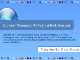 Browser Compatibility Testing Risk Analysis -...
