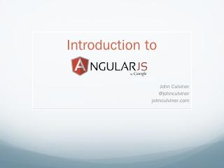 Building Applications with Angular.js - johnc...
