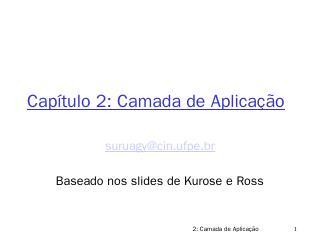 cap2-Kurose - MAURO OLIVEIRA