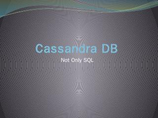 Cassandra DB.pptx