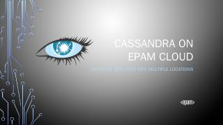 Cassandra on epam cloud - Virtualization & De...