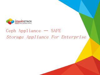 Ceph Appliance - inwinSTACK