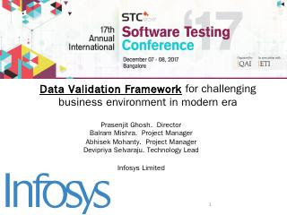 Challenges in evaluating data quality post mi...