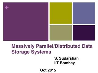 Chapter 19: Distributed Databases - CSE, IIT ...