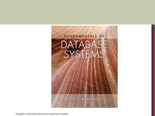 CHAPTER 24 NOSQL Databases and Big Data Stora...