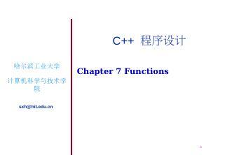 Chapter 2 Beginning to Program in C++  C++
