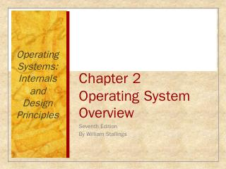 Chapter 2 Operating System Overview - Compute...