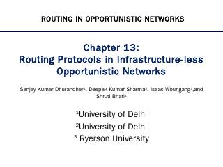 Chapter - Routing Protocols in Infrastructure...