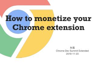 chrome-dev-summit-extended