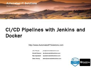 CI/CD Pipelines with Jenkins and Docker - Aut...