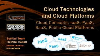 Cloud Technologies and Cloud Platforms - SoftUni