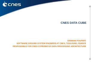 CNES Data Cube - CEOS