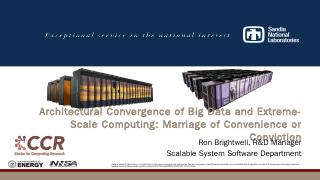 Co-Design of HPC Systems and Components - Par...