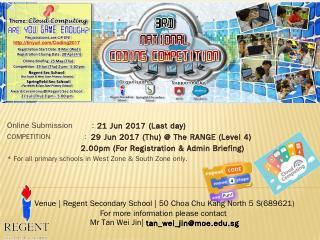 CODE FOR FUN - Regent Secondary School