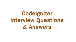 CodeIgniter - Viden.io