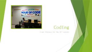 Coding: A new literacy for the 21st century l...