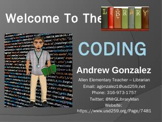 Coding for Librarians - Wichita Public Schools
