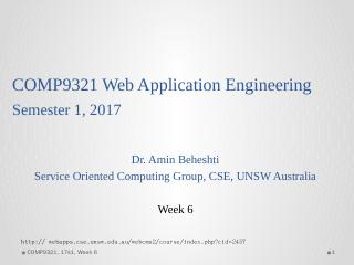 COMP9321 Web Application Engineering Semester...
