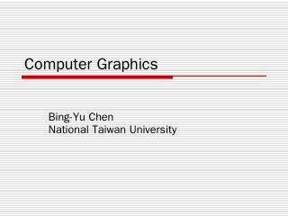 Computer Graphics - CMLab