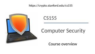 01computer and network  security---Course ove...