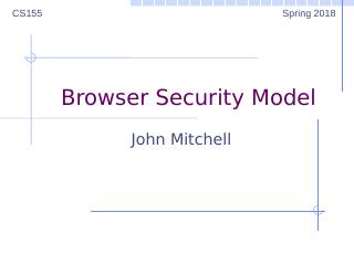 08computer and network security---Browser Sec...