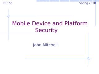 18computer and network security--Mobile Devic...