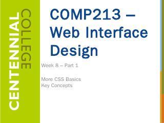 Configure Padding with CSS - Centennial Colle...