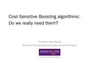 Cost-Sensitive Boosting Algorithms: Do we rea...