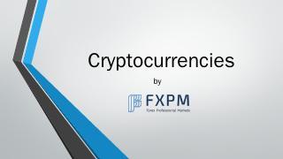 Cryptocurrencies - FX...
