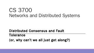 CS 4740/6740 Network Security - David Choffnes