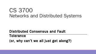 CS 4740/6740 Network Security - David Choffnes