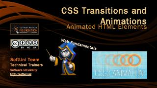 CSS Transitions and Animations - SoftUni