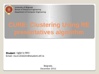 CURE: An Efficient Clustering Algorithm for L...